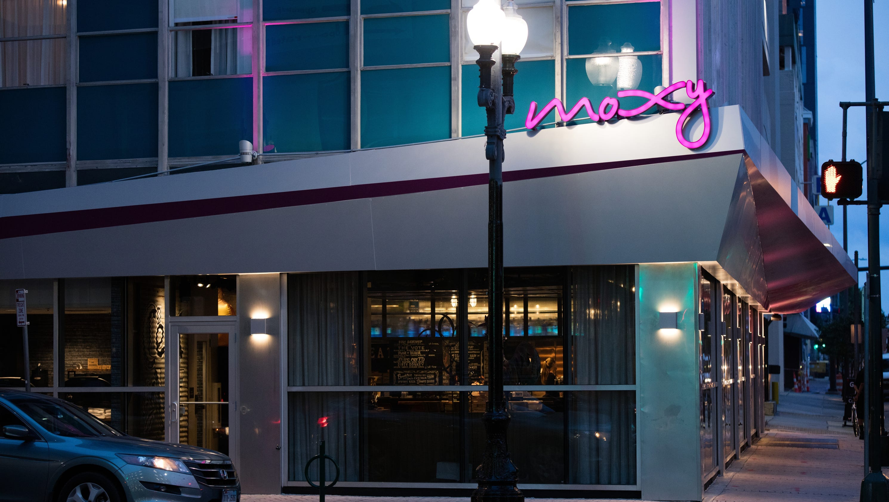 first look at marriott 39 s new moxy hotel brand in new orleans. Black Bedroom Furniture Sets. Home Design Ideas