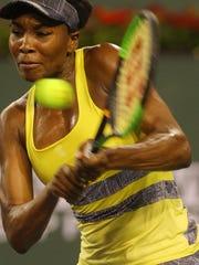 Venus Williams of the United States of America during
