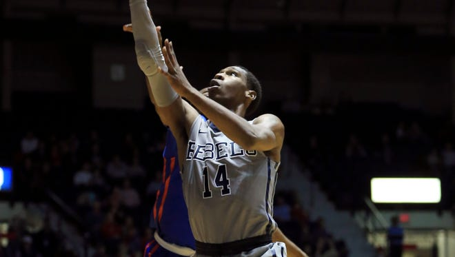 Ole Miss guard Rasheed Brooks is excited to play Friday's game against Memphis after spending two years at Southwest Tennessee Community College in Memphis.