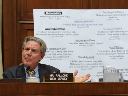 Rep. Frank Pallone of New Jersey wants sports betting