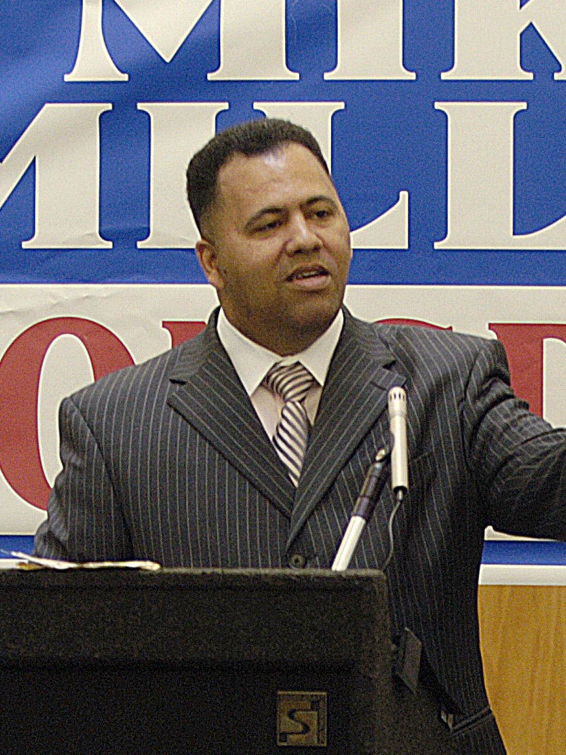 Mike Miller is shown in April 2008. He is running for Congress.