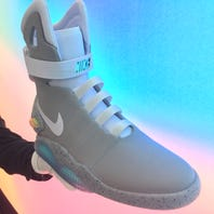 Here's how you could score a pair of Nike's 'Back to the Future' shoes