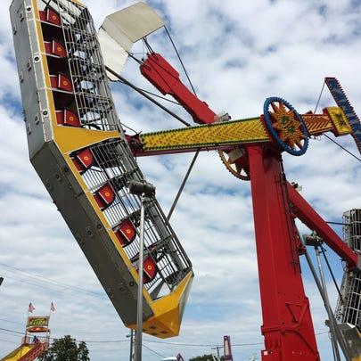 Sandusky County Fair on Thursday, Aug. 24, 2017.