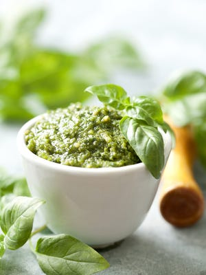 Pesto is the perfect thing to make with extra basil.