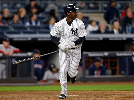 Chris Carter pounded his fifth homer of the year, a solo shot off Drew Pomeranz on Tuesday but struck out in a key spot against Craig Kimbrel.