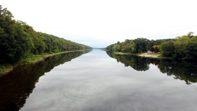 The Delaware River.