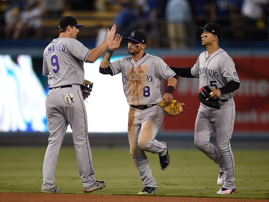 The Colorado Rockies look to maintain their hold on