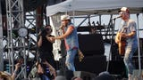 Snippets from performances by artists Maren Morris, Brett Eldredge, Jerrod Niemann and LOCASH during the 2018 Oregon Jamboree in Sweet Home.