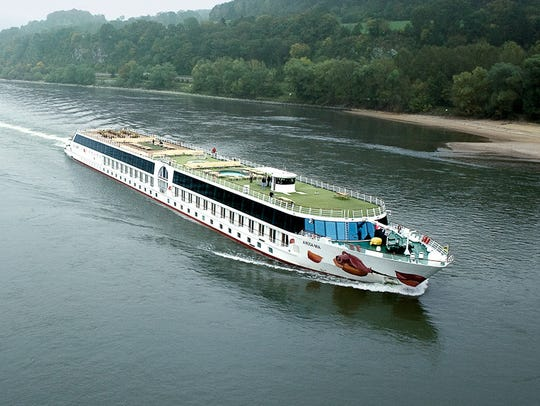 A cruise on the mighty Danube River is a very popular trip.
