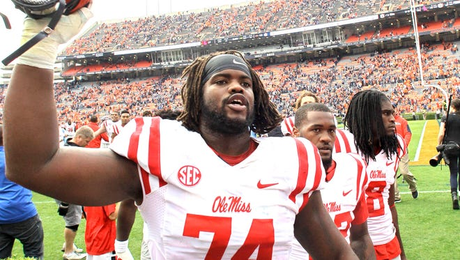 Ole Miss right tackle Fahn Cooper has accepted a spot in the East-West Shrine Game in January.