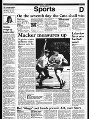 This Week in BC Sports History - May 7, 1995