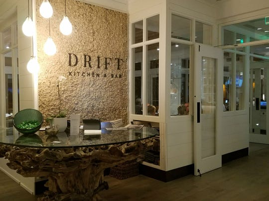 Drift Kitchen & Bar is on the second floor of the Hutchinson
