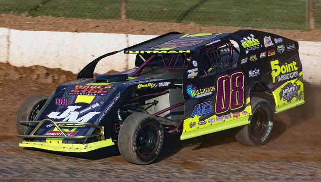 De Pere's Johnny Whitman will be battling for a $10,000 top prize at the 10th annual Clash at the Creek held Tuesday through Thursday at 141 Speedway in Francis Creek.