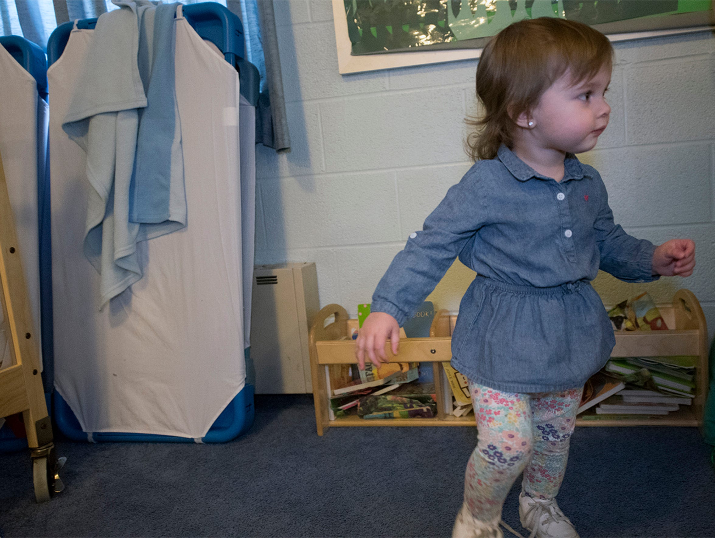 Destini Boxall's daughter, Aislynn, 19-months-old,
