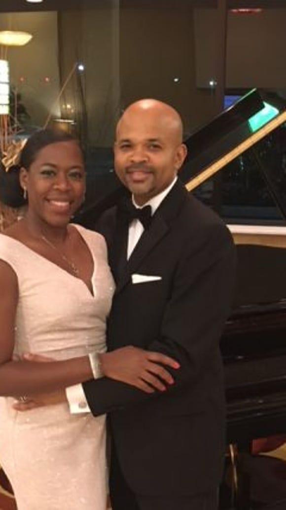 Al and Lesia at a fundraising gala. (Photo courtesy of Al Riddick)