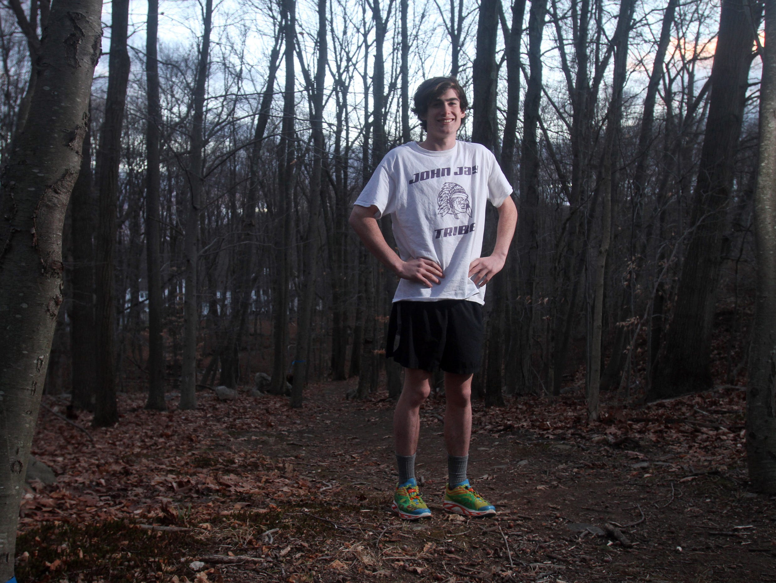Eion Nohilly, a senior at John Jay-Cross River High School, is the Journal News Westchester/Putnam boys cross-country runner of the year. Nohilly won six major meets, including the Section 1 Coaches Invitational, Westchester County Championship and Section 1 Championship, all in personal-record times for those races.