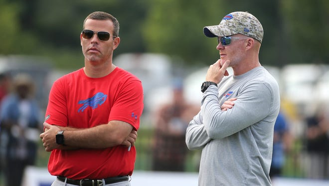 Brandon Beane and Sean McDermott are ready to go in year two of running the Bills football operation.