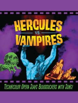 "Promotional art for Arizona Opera's October 2017 production of ""Hercules vs. Vampires."""
