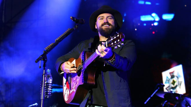 "Zac Brown entertained fans with a rendition of Queen's ""Bohemian Rhapsody"" during his band's Sunday performance at White River State Park."