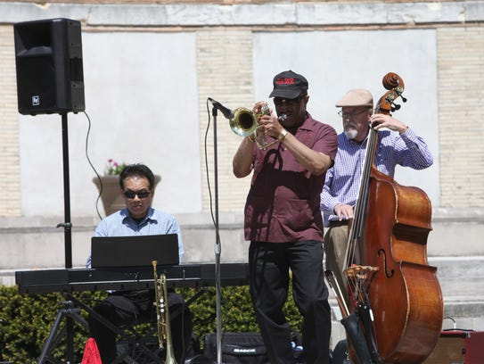 """Kenny Lee and the All Stars perform during """"An Afternoon"""