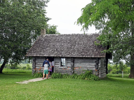 The Little House Wayside features a re-creation of