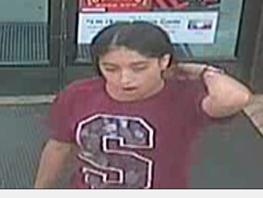 A suspect in a robbery at the 7-Eleven at Corkscrew