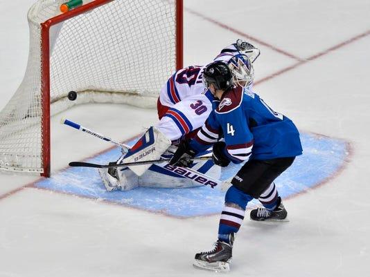Rangers Avalanche Hockey