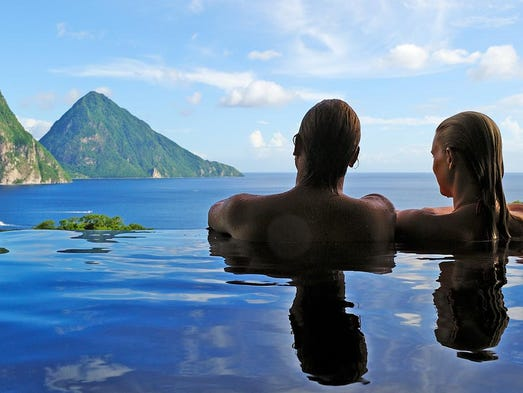 Caribbean Honeymoons Best Resorts In St Lucia