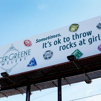 Asheville jewelry store faces criticism for billboard