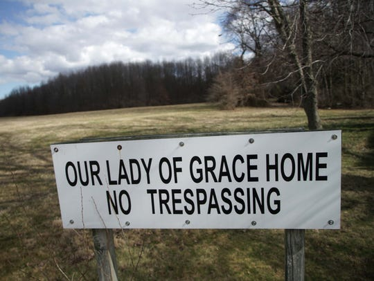 The land of where the former Our Lady of Grace Home