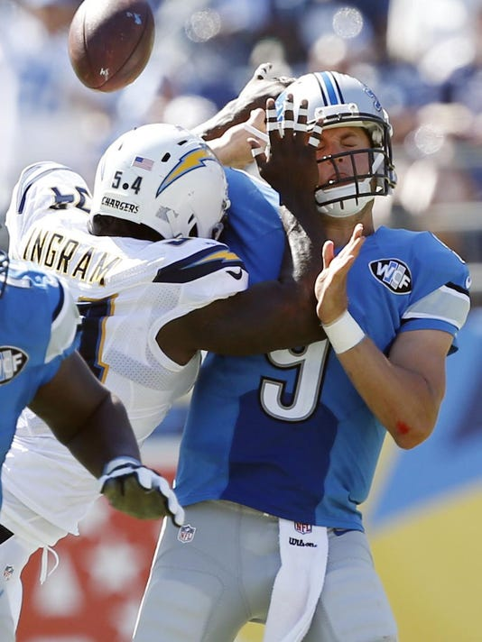 Matthew Stafford, Melvin Ingram