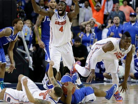 APTOPIX SEC Kentucky Florida Basketball
