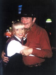 The late Tom Corrigan, with his wife Diane.