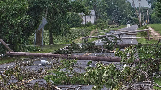 A June 23 storm with damaging winds left South Jersey with a massive cleanup that has so far tallied more than $20 million.