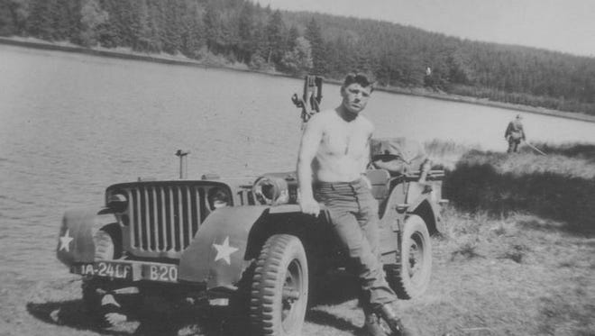 World War II veteran Floyd Jacks was often tasked with driving jeeps during missions in Germany and France. The veteran was awarded a silver star for his heroic efforts in battle.