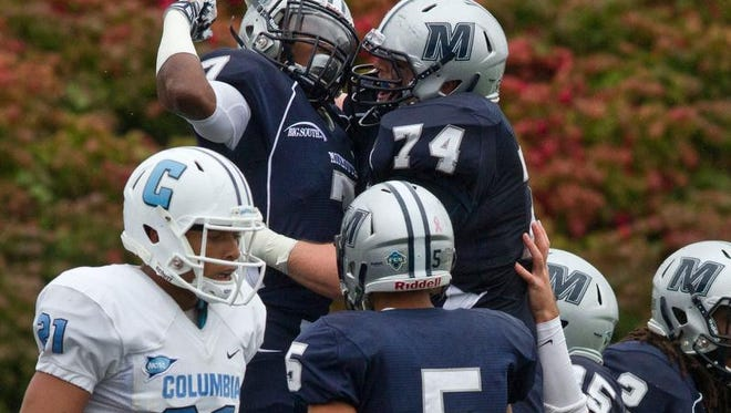 Darren Ambush (7) and Monmouth University are preparing for their third season as an associate member of the Big South in football. The league's media day will be held Tuesday in Charlotte