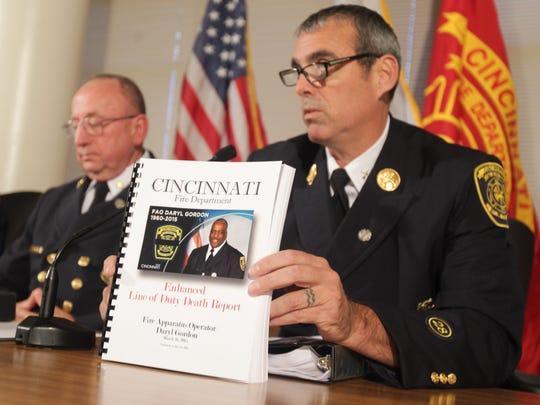 Cincinnati Fire Department assistant chief for training