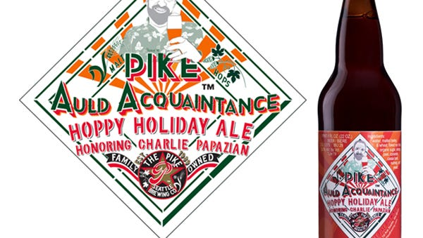 Pike brewed a beer – perfect for winter – in homage of Charlie Papazian.
