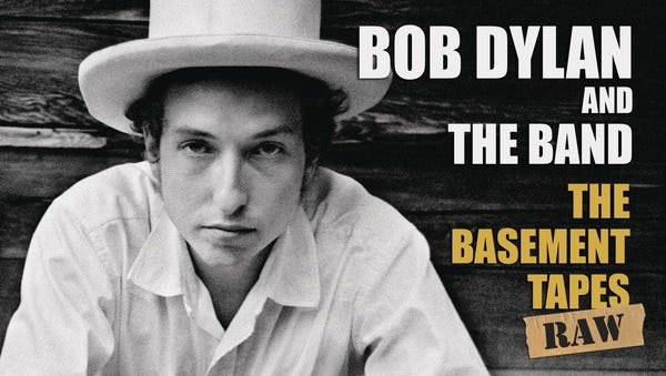 The cover of Bob Dylan and The Band's 'The Basement Taps Raw,' out Nov. 4.