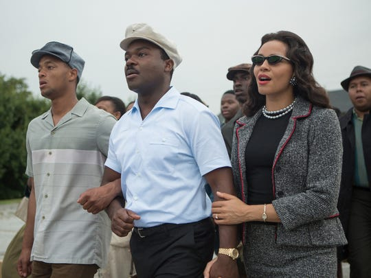 David Oyelowow and Carmen Ejogo are Martin Luther King