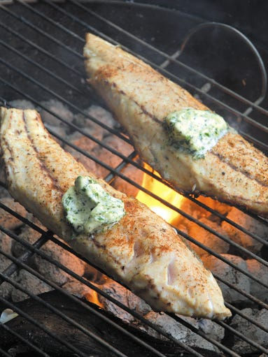 Louisiana restaurants offer catch and cook for Red fish grill
