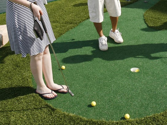 "The ""Artist Designed Mini Golf"" exhibit opens on May"