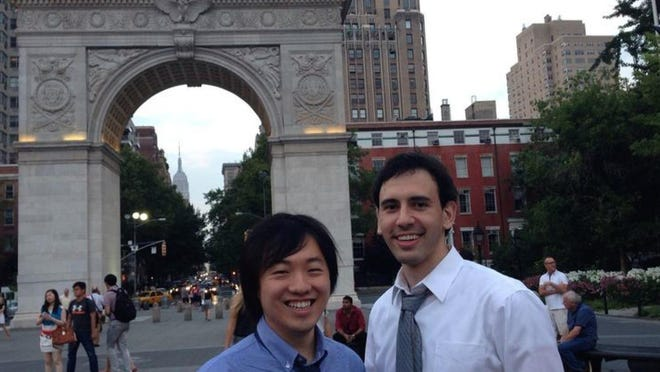Wonder Keyboard co-founders Allan Zhang and Sam Mendelson.