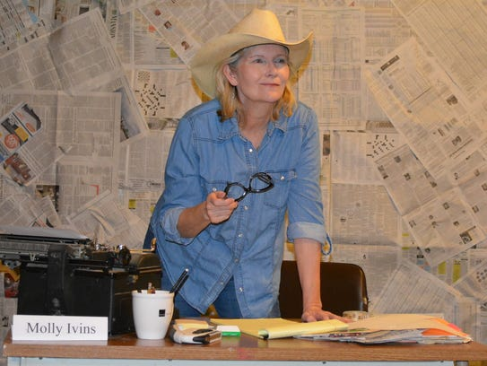 Actress, Mary Maxson embraces the role, imbuing it