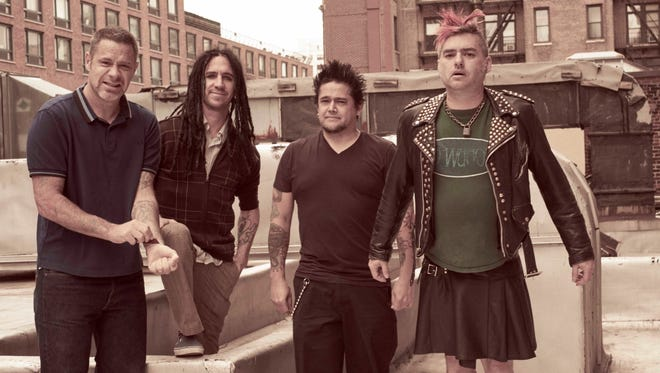 """Influential punk band NOFX will sign copies of its autobiography, """"NOFX: The Hepatitis Bathtub and Other Stories"""" Nov. 13 at Boswell Books. The band performs at the Rave that night."""