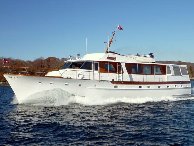 Trumpy Yachts A Study In Elegance