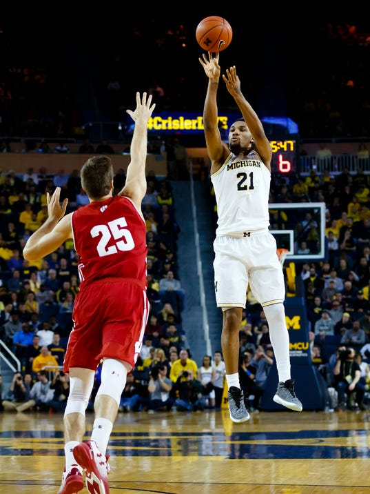 NCAA Basketball: Wisconsin at Michigan