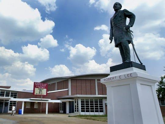 File photo of Robert E. Lee High School.