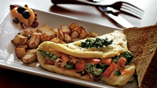 Cafe Zuppa, a popular Downtown breakfast and lunch spot, has closed. Shown here is the aptly named Meridian Street Omelet breakfast place. The eatery is located at 320 N. Meridian St. in the Chamber of Commerce Building.