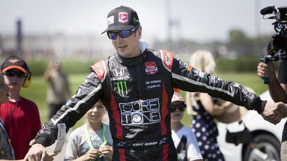Kurt Busch had a smooth month at Indy. Will he try the 500 again?